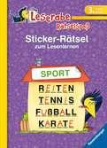 Sticker-Rätsel zum Lesenlernen (3. Lesestufe) Kinderbücher;Lernbücher und Rätselbücher - Ravensburger