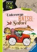 Unterwegs auf großer Rätsel-Safari Bücher;Lern- und Rätselbücher - Ravensburger