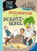 Rätselabenteuer auf der Schatzinsel Bücher;Lern- und Rätselbücher - Ravensburger