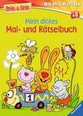 Mein dickes Mal- und Rätselbuch Malen und Basteln;Bastel- und Malbücher - Ravensburger