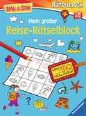 Mein großer Reise-Rätselblock Kinderbücher;Lernbücher und Rätselbücher - Ravensburger