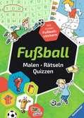 Fußball. Malen - Rätseln - Quizzen Malen und Basteln;Bastel- und Malbücher - Ravensburger