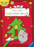 Mein erstes Weihnachtsmalbuch Malen und Basteln;Bastel- und Malbücher - Ravensburger