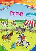 Ponys Malen und Basteln;Bastel- und Malbücher - Ravensburger