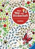 Mein Mal- und Stickerheft: Insekten Malen und Basteln;Bastel- und Malbücher - Ravensburger