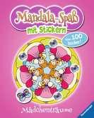 Mandala-Spaß mit Stickern: Mädchenträume Malen und Basteln;Bastel- und Malbücher - Ravensburger