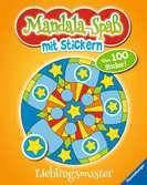 Mandala-Spaß mit Stickern: Lieblingsmuster Kinderbücher;Malbücher und Bastelbücher - Ravensburger