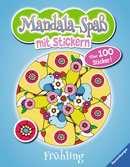 Mandala-Spaß mit Stickern: Frühling Malen und Basteln;Bastel- und Malbücher - Ravensburger