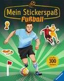 Mein Stickerspaß: Fußball Malen und Basteln;Bastel- und Malbücher - Ravensburger