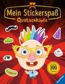 Mein Stickerspaß: Quatschköpfe Malen und Basteln;Bastel- und Malbücher - Ravensburger