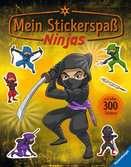 Mein Stickerspaß: Ninjas Kinderbücher;Malbücher und Bastelbücher - Ravensburger