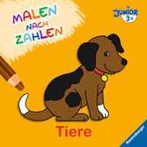 Malen nach Zahlen junior: Tiere Kinderbücher;Malbücher und Bastelbücher - Ravensburger