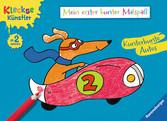 Mein erster bunter Malspaß: Kunterbunte Autos Malen und Basteln;Bastel- und Malbücher - Ravensburger