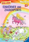 Einhörner und Zauberponys Malen und Basteln;Bastel- und Malbücher - Ravensburger