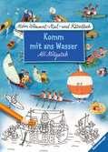 Mein Wimmel-Mal- und Rätselbuch Ali Mitgutsch: Komm mit ans Wasser Malen und Basteln;Bastel- und Malbücher - Ravensburger