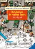 Mein Wimmel-Mal- und Rätselbuch Ali Mitgutsch: Rundherum in meiner Stadt Malen und Basteln;Bastel- und Malbücher - Ravensburger