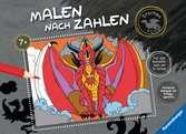 Malen nach Zahlen: Drachen Kinderbücher;Malbücher und Bastelbücher - Ravensburger