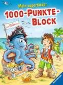 Mein superdicker 1000-Punkte-Block Bücher;Lern- und Rätselbücher - Ravensburger