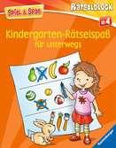 Kindergarten-Rätselspaß für unterwegs Kinderbücher;Lernbücher und Rätselbücher - Ravensburger