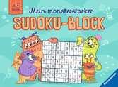 Mein monsterstarker Sudoku-Block Kinderbücher;Lernbücher und Rätselbücher - Ravensburger