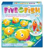 Five Little Fish™ Game, Bilingual Games;Children's Games - Ravensburger
