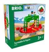 Lok-Drehscheibe mit Kontrollbrücke BRIO;BRIO Eisenbahn - Ravensburger