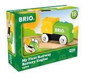 Ma Premiere Locomotive à pile BRIO;BRIO Trains - Ravensburger