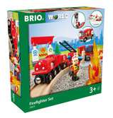 BRIO Bahn Feuerwehr Set  TV Artikel BRIO;Brio Eisenbahn - Ravensburger