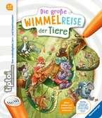 tiptoi® Die große Wimmelreise der Tiere Kinderbücher;tiptoi® - Ravensburger