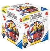 Minions 3D Puzzle, 54pc (2 designs) 3D Puzzle®;Character 3D Puzzle® - Ravensburger