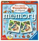 Meine schönsten Wimmelbilder memory® Spiele;Kinderspiele - Ravensburger