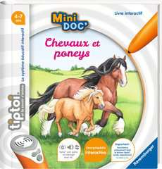 tiptoi® - Mini Doc' - Chevaux et poneys - Image 1 - Cliquer pour agrandir