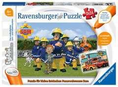tiptoi® Puzzle für kleine Entdecker: Feuerwehrmann Sam - Bild 1 - Klicken zum Vergößern