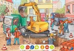 tiptoi® Puzzle für kleine Entdecker: Baustelle - Bild 3 - Klicken zum Vergößern