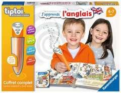 tiptoi® - Coffret complet lecteur interactif + Livre J'apprends l'anglais - Image 1 - Cliquer pour agrandir