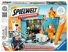 tiptoi® mini Spielwelt Feuerwehr: Gefahrguteinsatz - Bild 1 - Klicken zum Vergößern