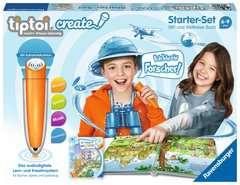 tiptoi® CREATE Starter-Set: Stift und Weltreise-Buch - Bild 1 - Klicken zum Vergößern