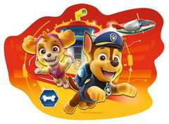 Paw Patrol Four Large Shaped Puzzles - image 2 - Click to Zoom