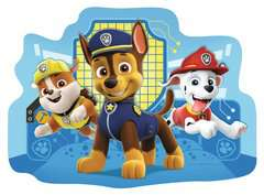 Paw Patrol Four Large Shaped Puzzles - image 3 - Click to Zoom