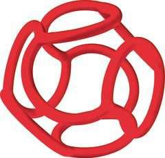 baliba - Babys Lieblingsball (rot) - Bild 1 - Klicken zum Vergößern