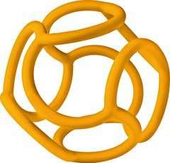 baliba - Babys Lieblingsball (orange) - Bild 1 - Klicken zum Vergößern