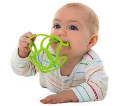 baliba - Babys Lieblingsball (orange) - Bild 3 - Klicken zum Vergößern