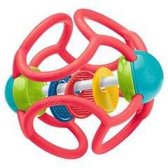 baliba Rasselball (rot) - Bild 1 - Klicken zum Vergößern