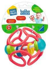 baliba Rasselball (rot) - Bild 2 - Klicken zum Vergößern
