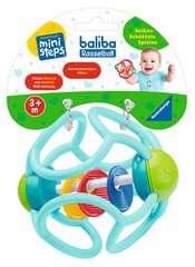 baliba Rasselball (türkis) - Bild 2 - Klicken zum Vergößern