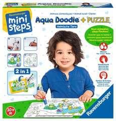 Aqua Doodle® Puzzle: Heimische Tiere - Bild 2 - Klicken zum Vergößern