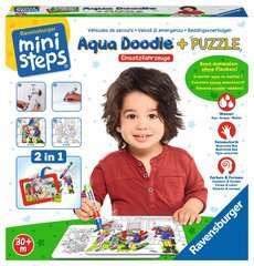 Aqua Doodle® Puzzle: Einsatzfahrzeuge - Bild 2 - Klicken zum Vergößern