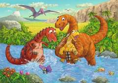 Dinosaurs at play - image 2 - Click to Zoom
