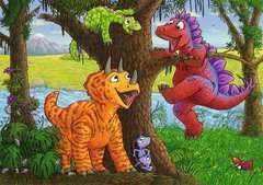 Dinosaurs at play - image 3 - Click to Zoom