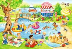 Swimming at the lake      2x24p - Billede 3 - Klik for at zoome